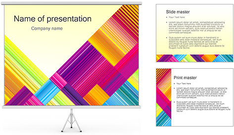 Texture Abstraction PowerPoint Template