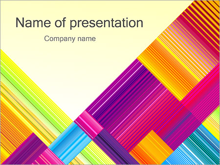 Texture Abstraction PowerPoint Templates