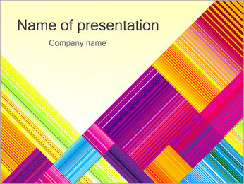 Texture Abstraction PowerPoint Templates - Slide 1