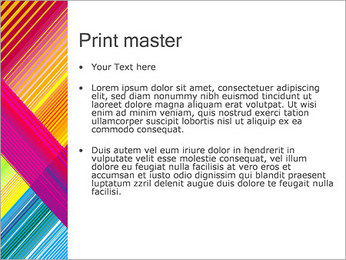 Texture Abstraction PowerPoint Templates - Slide 24