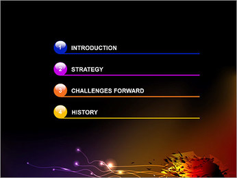 爆発 PowerPointプレゼンテーションのテンプレート - スライド 3
