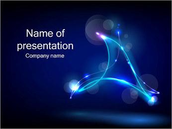 Ombres dans la nuit Modèles des présentations  PowerPoint - Diapositives 1