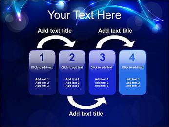 Ombres dans la nuit Modèles des présentations  PowerPoint - Diapositives 11