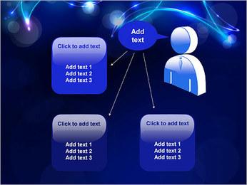 Ombres dans la nuit Modèles des présentations  PowerPoint - Diapositives 12