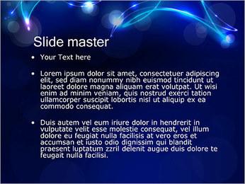Ombres dans la nuit Modèles des présentations  PowerPoint - Diapositives 2