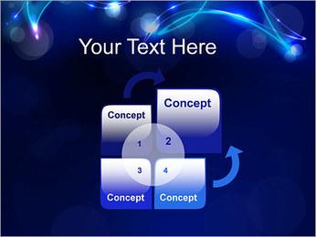 Ombres dans la nuit Modèles des présentations  PowerPoint - Diapositives 5