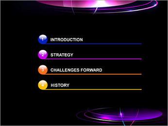 Flamme de bougie Modèles des présentations  PowerPoint - Diapositives 3