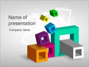 Squares and Rectangles PowerPoint Templates