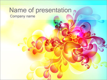 Ornamental Abstraction PowerPoint Template
