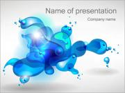 Water Drops PowerPoint Templates