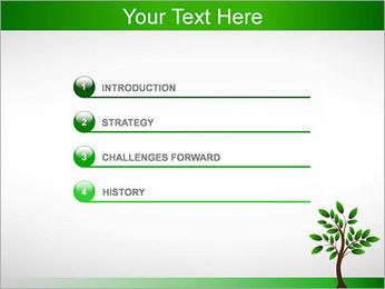 Nouveau Arbre Modèles des présentations  PowerPoint - Diapositives 3
