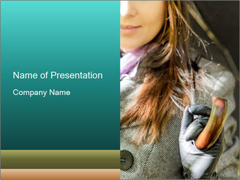 Elegant Fashion for Autumn Season PowerPoint Template