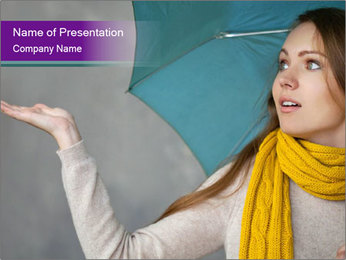 Autumn Rainy Season PowerPoint Template