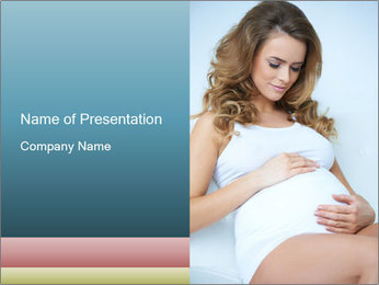 The Beauty of Maternity PowerPoint Template