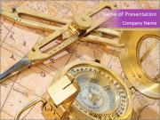 Antique Travell Accessories PowerPoint Templates