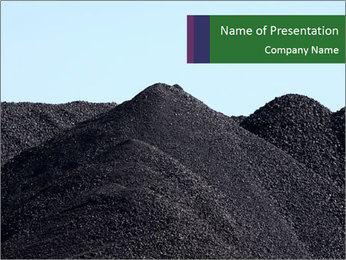 Coal Storage PowerPoint Template
