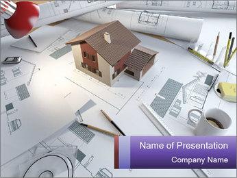 Architect Buro Modelos de apresentações PowerPoint