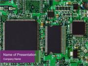 Digital Microchip Шаблоны презентаций PowerPoint