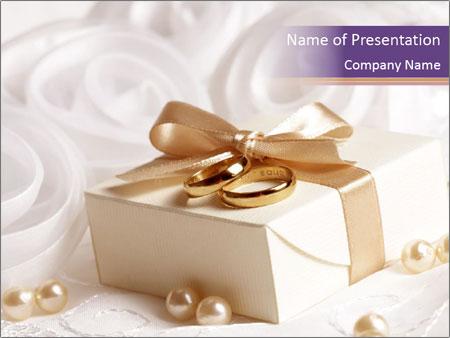Elegant Wedding Gift Powerpoint Template Backgrounds Google