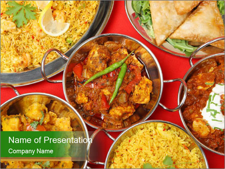 Indian restaurant powerpoint template backgrounds id 0000020747 indian restaurant powerpoint templates toneelgroepblik Image collections