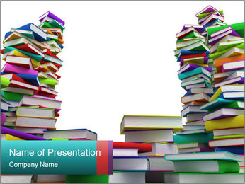 Book Shop PowerPoint Template