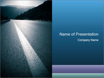 Perfect Road PowerPoint Template