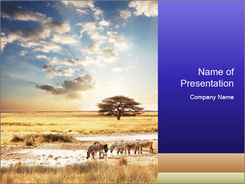 Wildlife of Animals PowerPoint Template
