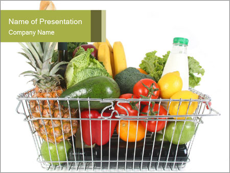 Food from grocery shop powerpoint template backgrounds id food from grocery shop powerpoint template toneelgroepblik Image collections