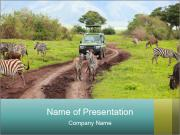 Safari Trip PowerPoint Templates