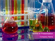 Colorful Lab Tubes PowerPoint Templates