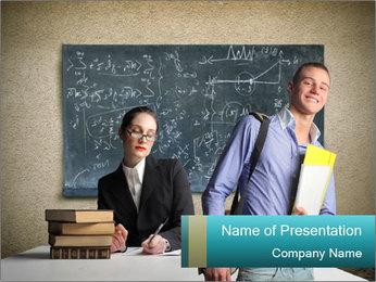 High School Classroom PowerPoint Template