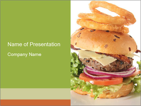 Huge burger powerpoint template backgrounds id 0000021650 huge burger powerpoint template toneelgroepblik Images