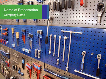 Tools for Mechanic's Work Modelos de apresentações PowerPoint