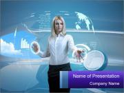 Professional Woman Шаблоны презентаций PowerPoint