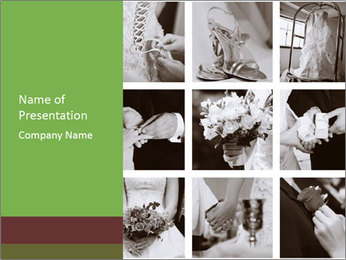 Wedding Moments PowerPoint Template