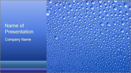 rain drops powerpoint template backgrounds google slides id