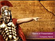 Brave Gladiator PowerPoint Templates