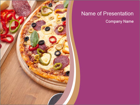 homemade pizza powerpoint template backgrounds google slides id