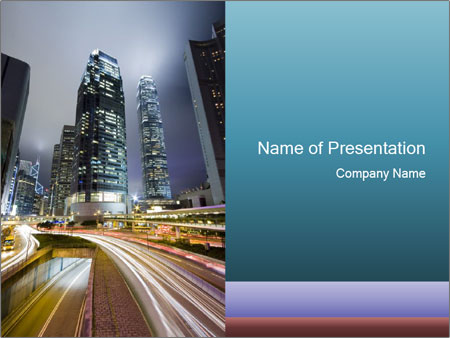 Travelling To Hongkong Powerpoint Template Backgrounds Google