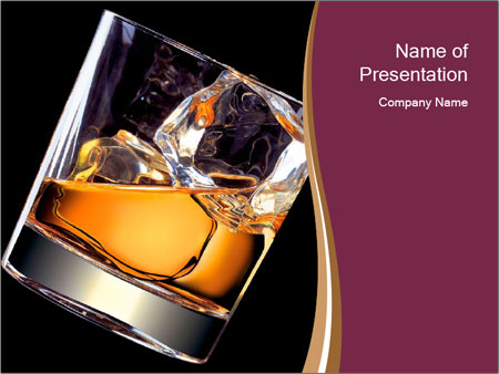 Rum on rocks powerpoint template backgrounds id 0000022080 rum on rocks powerpoint template toneelgroepblik Choice Image