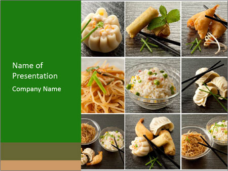 Collage of chinese food powerpoint template backgrounds id collage of chinese food powerpoint templates toneelgroepblik Images