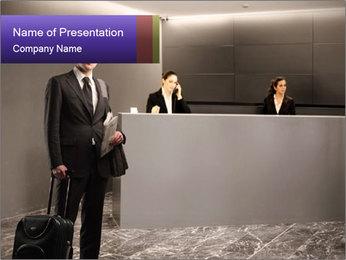 Business Class Hotel PowerPoint Template