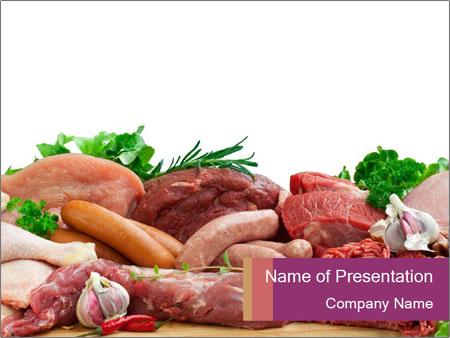 Meat at supermarket powerpoint template backgrounds google slides meat at supermarket powerpoint template toneelgroepblik Gallery