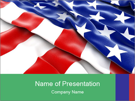 Patriotic Powerpoint Template Smiletemplates