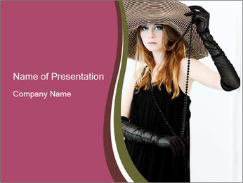 Luxurious Fashion PowerPoint Template