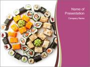 Set of Maki Sushi PowerPoint Templates