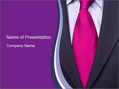 Black suit with pink tie powerpoint template backgrounds google black suit with pink tie powerpoint template ccuart Image collections