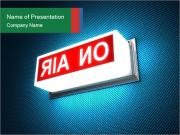 On Air Notification PowerPoint Templates