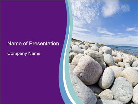 Stony beach in ukraine powerpoint template backgrounds id stony beach in ukraine powerpoint template toneelgroepblik Images