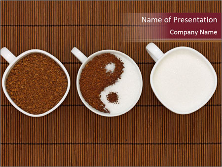 Yin yang coffee powerpoint template backgrounds id 0000022666 yin yang coffee powerpoint templates toneelgroepblik Gallery